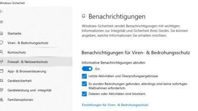 windows defender 390x220 - Windows Security Center Benachrichtigungen deaktivieren