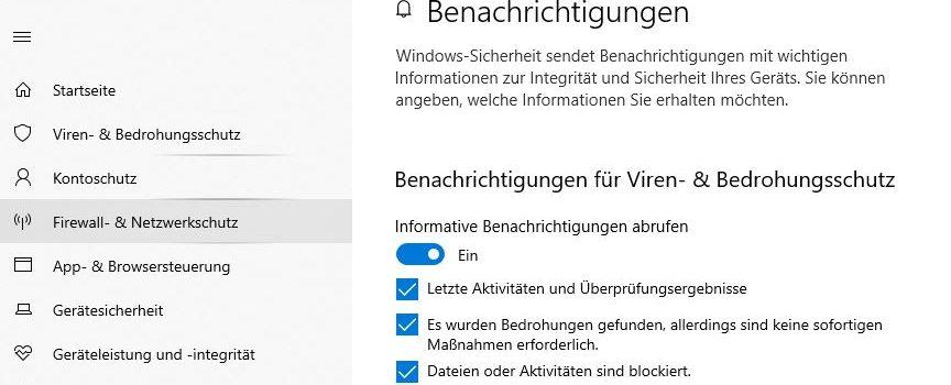 windows defender 864x350 - Windows Security Center Benachrichtigungen deaktivieren