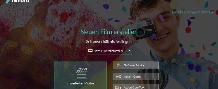 16 02  2019 18 22 55 853x350 - Wondershare Filmora - Videos erstellen ohne Limits