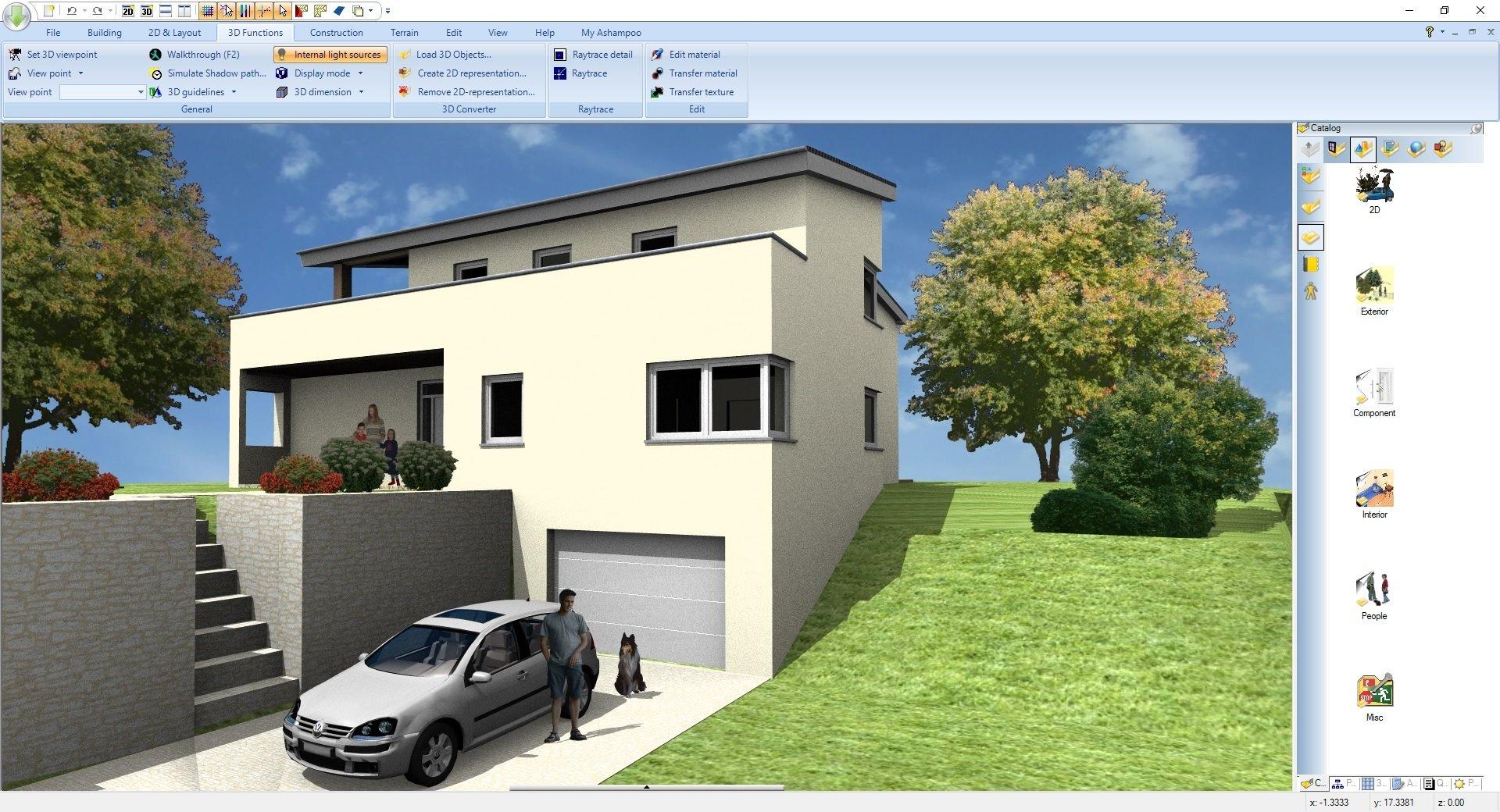 3d - Ashampoo® Home Design 5 - Wir verlosen 5 Lizenzen