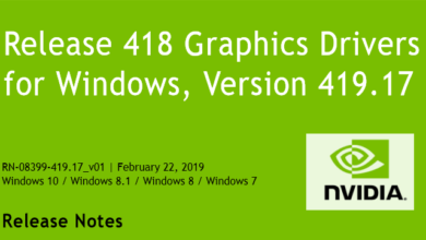 41917 390x220 - Nvidia-GeForce-Treiber Version 419.17 für Windows erschienen