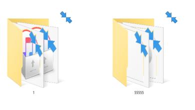 Bild von Blaue Pfeile bei Windows 10 – was ist das? Wie entfernen?