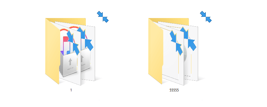 blaue pfeile windows 10 - Blaue Pfeile bei Windows 10 – was ist das? Wie entfernen?
