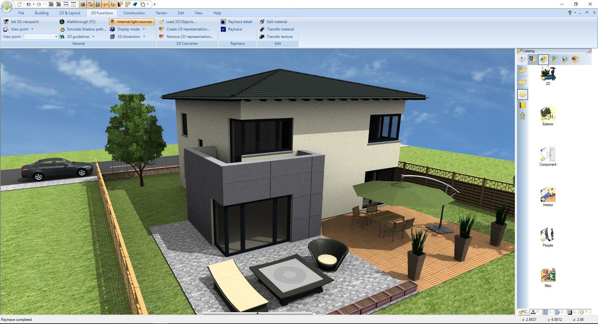 garten - Ashampoo® Home Design 5 - Wir verlosen 5 Lizenzen