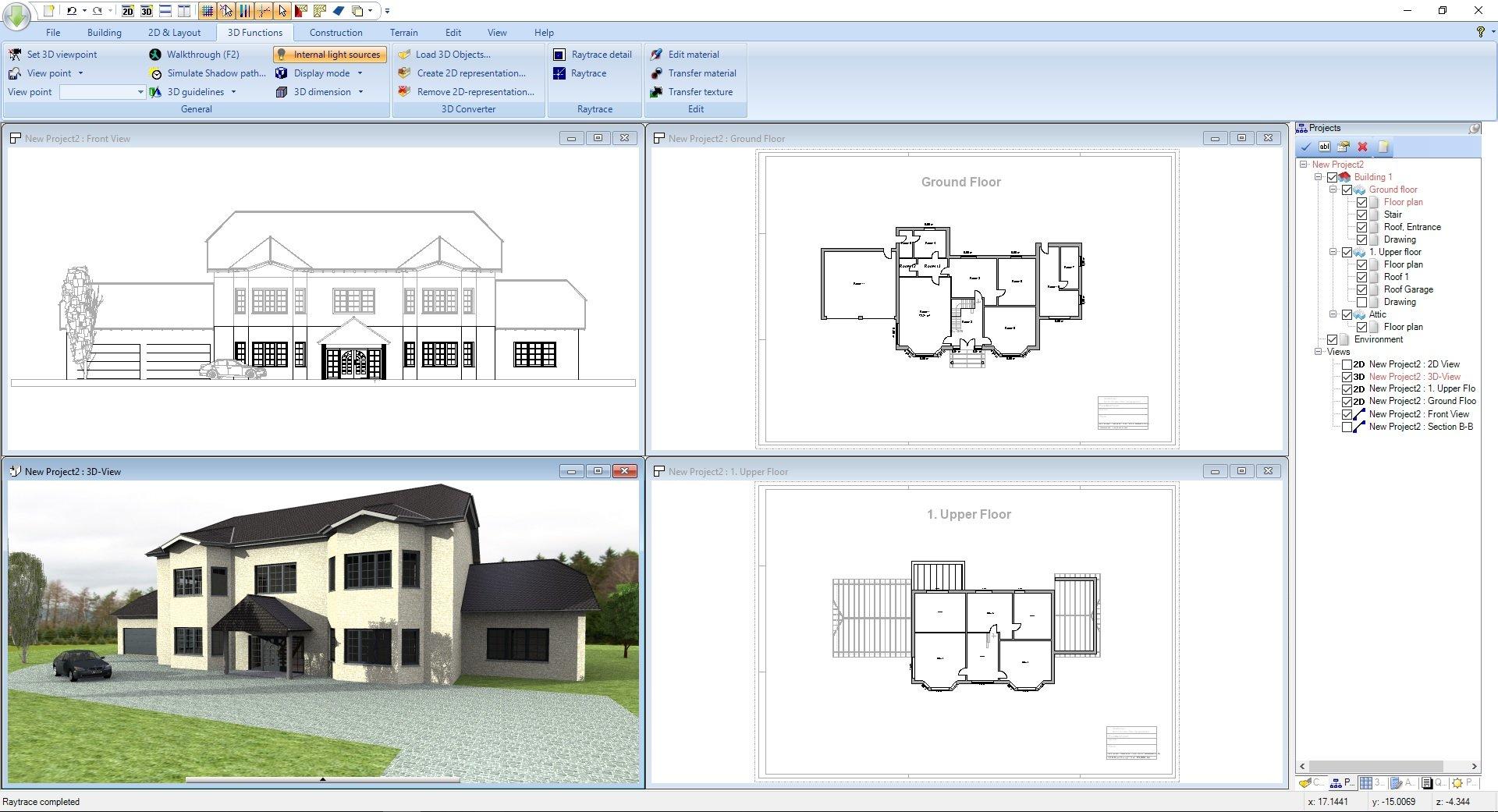 zimmer - Ashampoo® Home Design 5 - Wir verlosen 5 Lizenzen