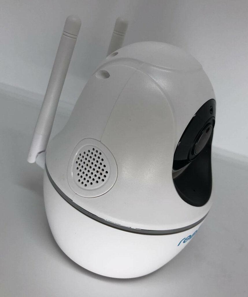 2 wege audio 858x1024 - Reolink C2 Pro Überwachungskamera ausprobiert