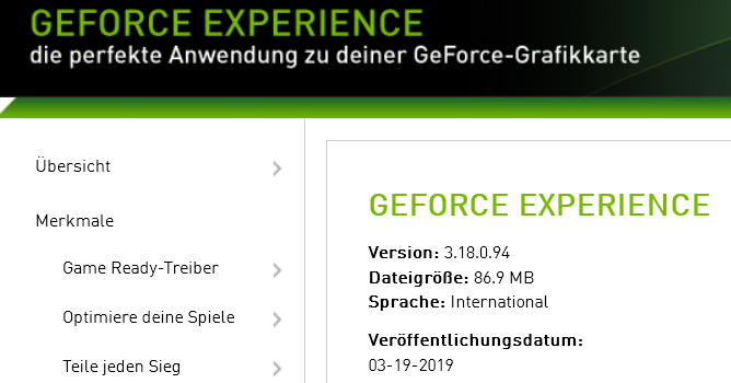 318094 668x350 - Nvidia GeForce Experience 3.18.0.94 – neue Version erschienen