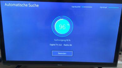 file 51 390x220 - Hisense Serie 6140 Erste Installation