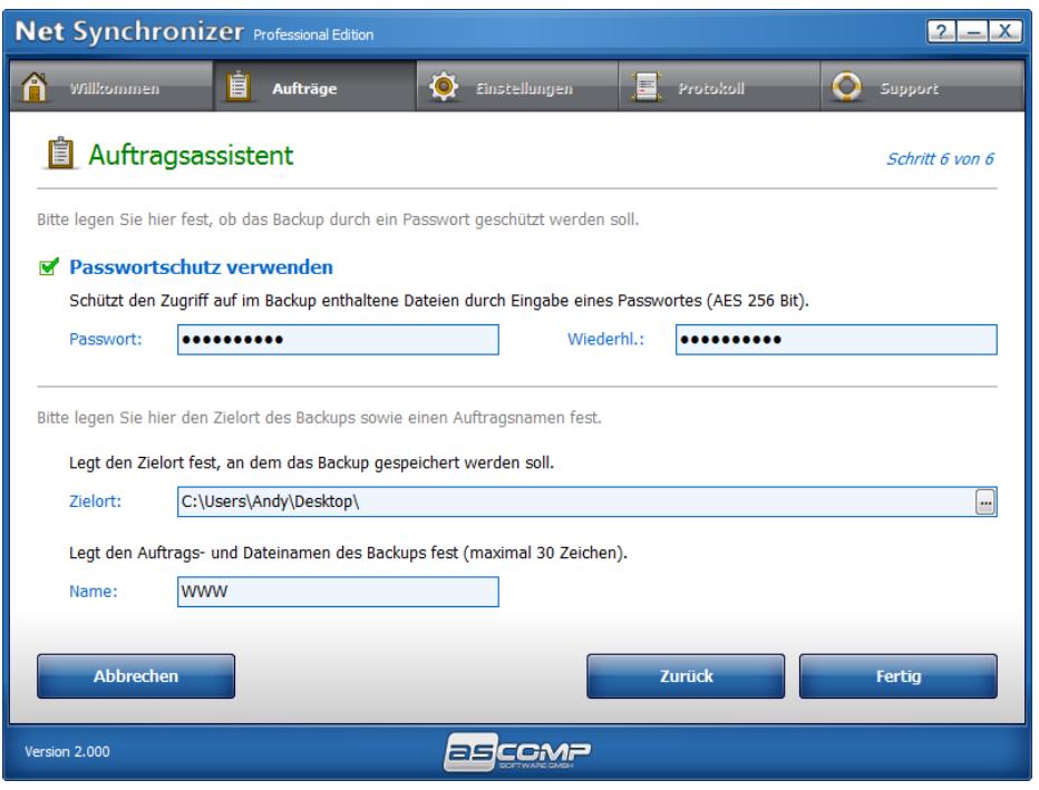 passwortschutz - Net Synchronizer – Wir verlosen 15 Lizenzen