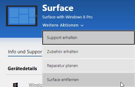 surface entfernen - Alten Microsoft Surface zum Verkauf vorbereiten - Tipps