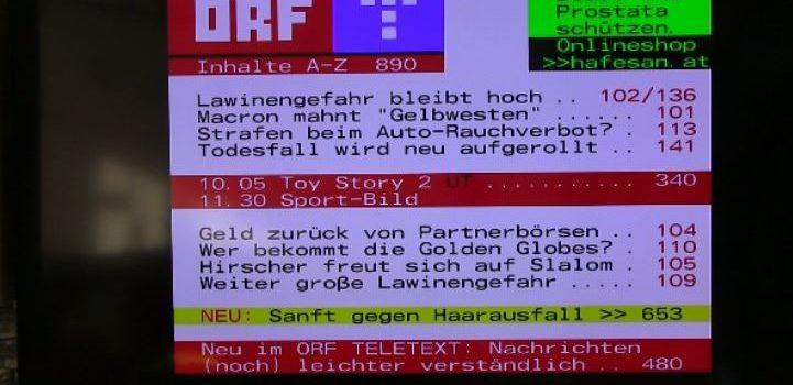 teletext 721x405 1 721x350 - Samsung TV Teletext Startseite einstellen
