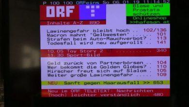 teletext 721x405 390x220 - Samsung TV Teletext Unterseiten aufrufen