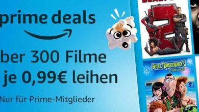 video amazon 390x220 - Über 300 Filme für je 0,99€ leihen bei Amazon