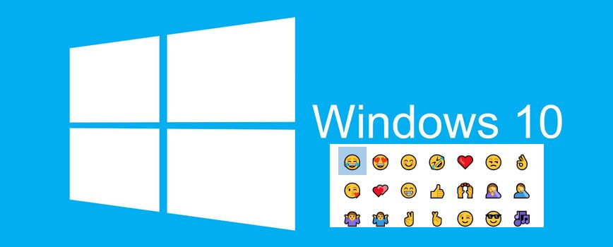 windows 10s  - Smiley Emojis bei Windows 10 benutzen