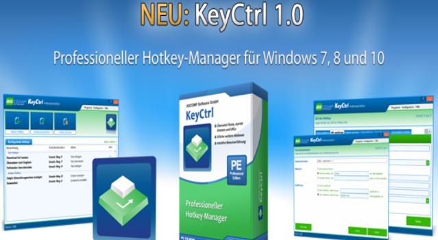 zwischenablage01 639x350 - Hotkey-Manager KeyCtrl – Wir verlosen 15 Lizenzen