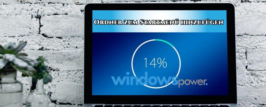 1 868x350 - Ordner zum Starmenü hinzufügen Windows 10