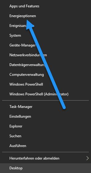 energieoptionen - Windows 10 Bildschirm immer noch dunkler bei voller Helligkeit