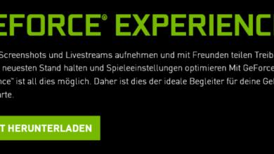 geforce 390x220 - Speicherplatz freigeben nach Nvidia Update mit GeForce® Experience