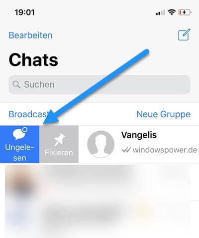 Whatsapp Nachrichtenanzahl