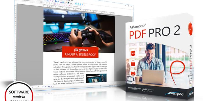 startbild 1 698x350 - Ashampoo® PDF Pro 2 – Wir verlosen 5 Lizenzen