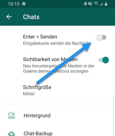 Enter Taste WhatsApp