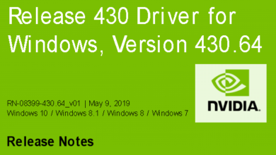 430.64 390x220 - Nvidia-GeForce-Treiber Version 430.64 für Windows erschienen
