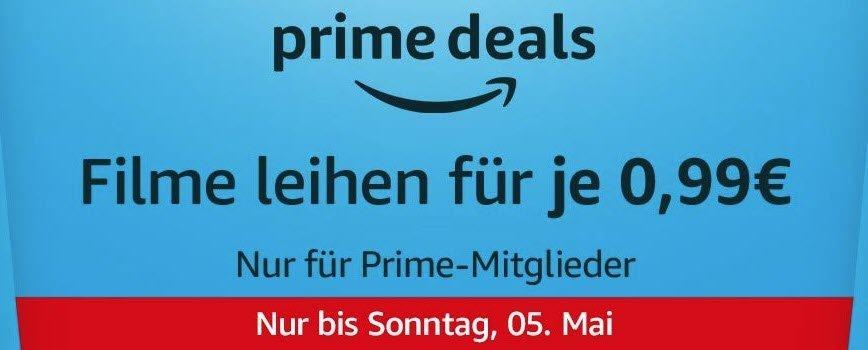 amazon filme - Amazon Prime Deals: Filme für 0,99€ leihen