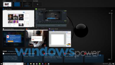 Bild von Windows 10 virtuellen Desktop verwenden