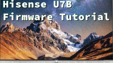 Bild von Hisense U7B Firmware Update Tutorial