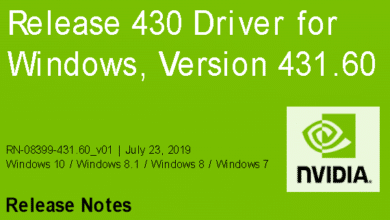 Bild von Nvidia-GeForce-Treiber Version 431.60 für Windows erschienen
