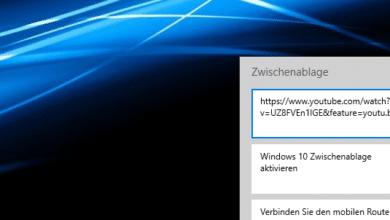Bild von Windows 10 Zwischenablage aktivieren
