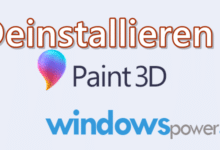 Photo of Paint 3D Deinstallieren Windows 10