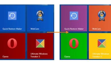 Bild von Windows 10 Kacheln im Startmenü färben