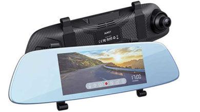 Bild von AUKEY Dashcam Spiegel Kamera mit 6.8 Zoll LCD-Touchscreen