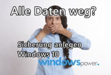 Photo of Sicherung anlegen Windows 10