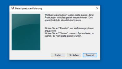 Bild von Unsignierte Treiber unter Windows 10 finden –  So geht's