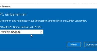 Photo of Wie kann ich mein Computer mit Windows 10 umbenennen?