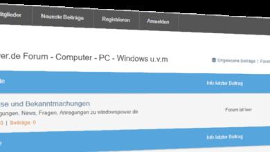 Bild von In eigener Sache: Das windowspower.de Forum ist online