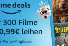 Photo of Prime Deals: Über 300 Filme für je 0,99€ leihen