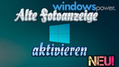 Bild von Alte Foto-anzeige wiederherstellen Windows 10 Neue Version