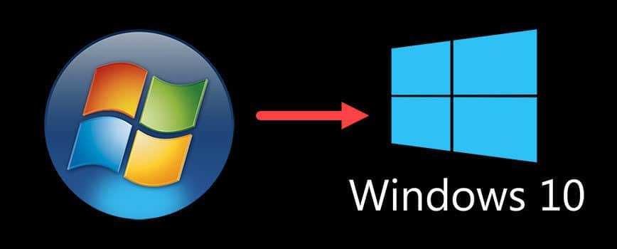 windows 7 to windows 10