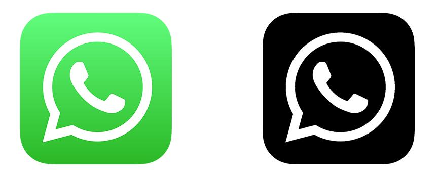 whatsapp dunkel