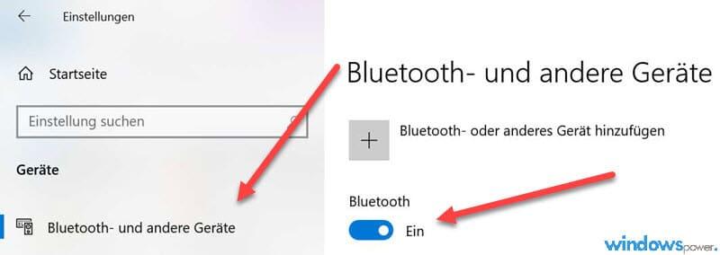 Bluetooth-Lautsprecher mit Computer verbinden