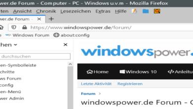 Bild von Firefox 78 – Sidebar die Schrift kleiner