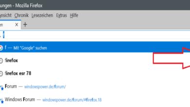 Bild von Firefox 79 – Scrollleiste im Popup der Adressleiste