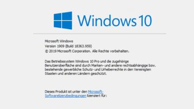 Bild von Build-Nummer herausfinden bei Windows 10 – so geht's