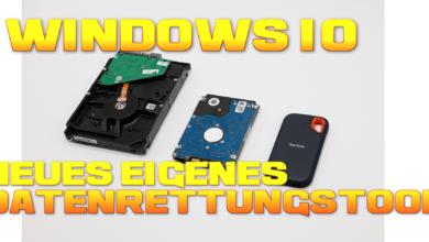 Bild von Windows 10 – neues, eigenes Datenrettungstool