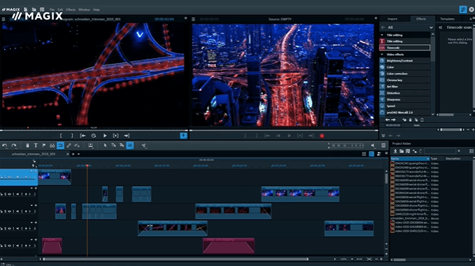magix video deluxe Erstellen von Videos