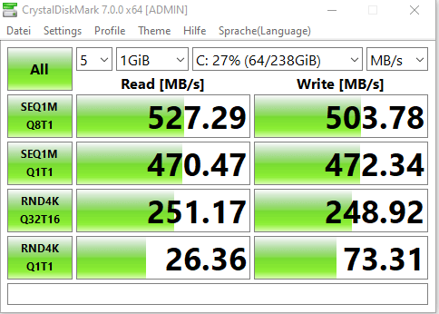 mini pc test ssd