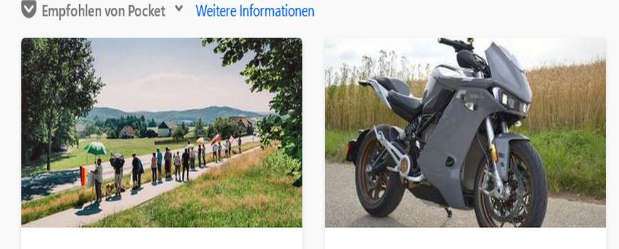 Bild von Firefox 79 – Neuer Tab Pocket Anzeige ändern